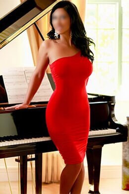 Karina Knightsbridge Red Dress