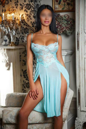 Karina Blue Lingerie Kensington Adult Massage London